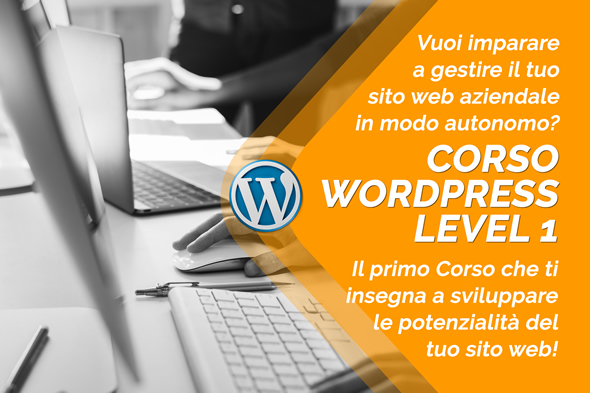 corso wordpress level1 mestre venezia